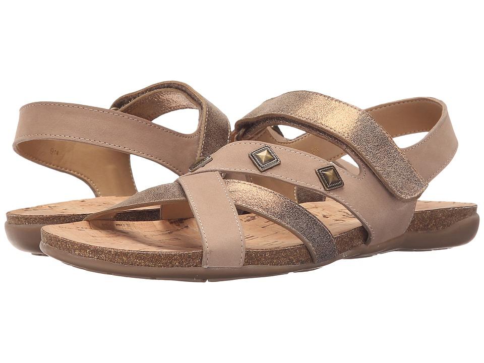Vaneli - Barry (Bronze Cipria/Taupe Soft Nabuk) Women's Sandals