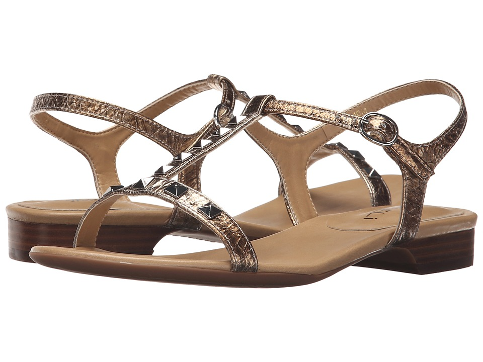 Vaneli - Beng (Pale Platino Gesa Kid/Silver Trim) Women's Sandals