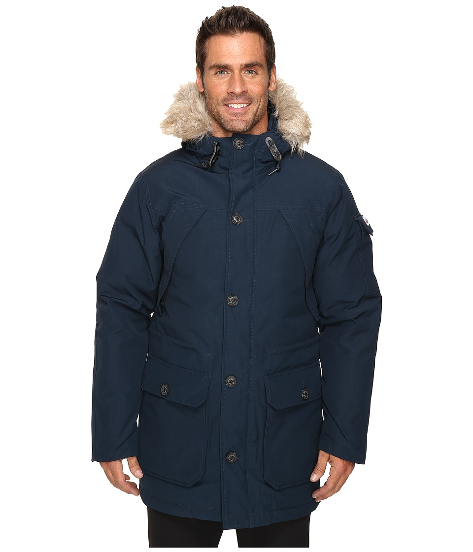 Penfield - Hoosac Faux Fur Jacket (Navy) Men's Coat