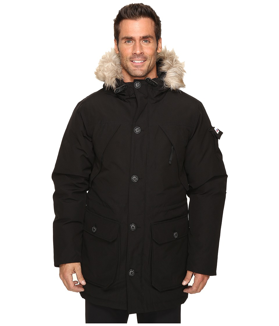 Penfield - Hoosac Faux Fur Jacket (Black) Men's Coat