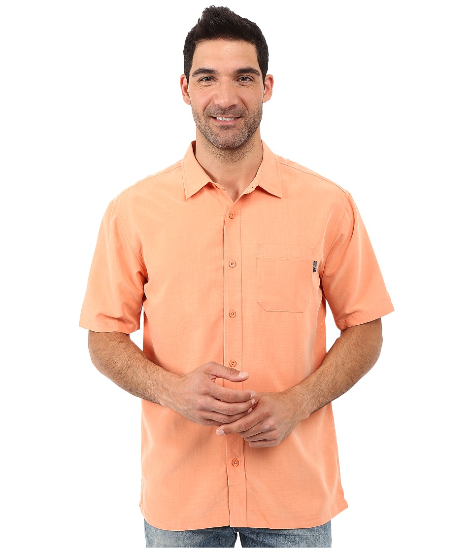Jack O'Neill - Ixtapa Wovens (Light Copper) Men's Short Sleeve Button Up