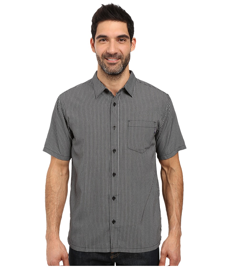 Jack O'Neill - Ford Wovens (Black) Men's Short Sleeve Button Up