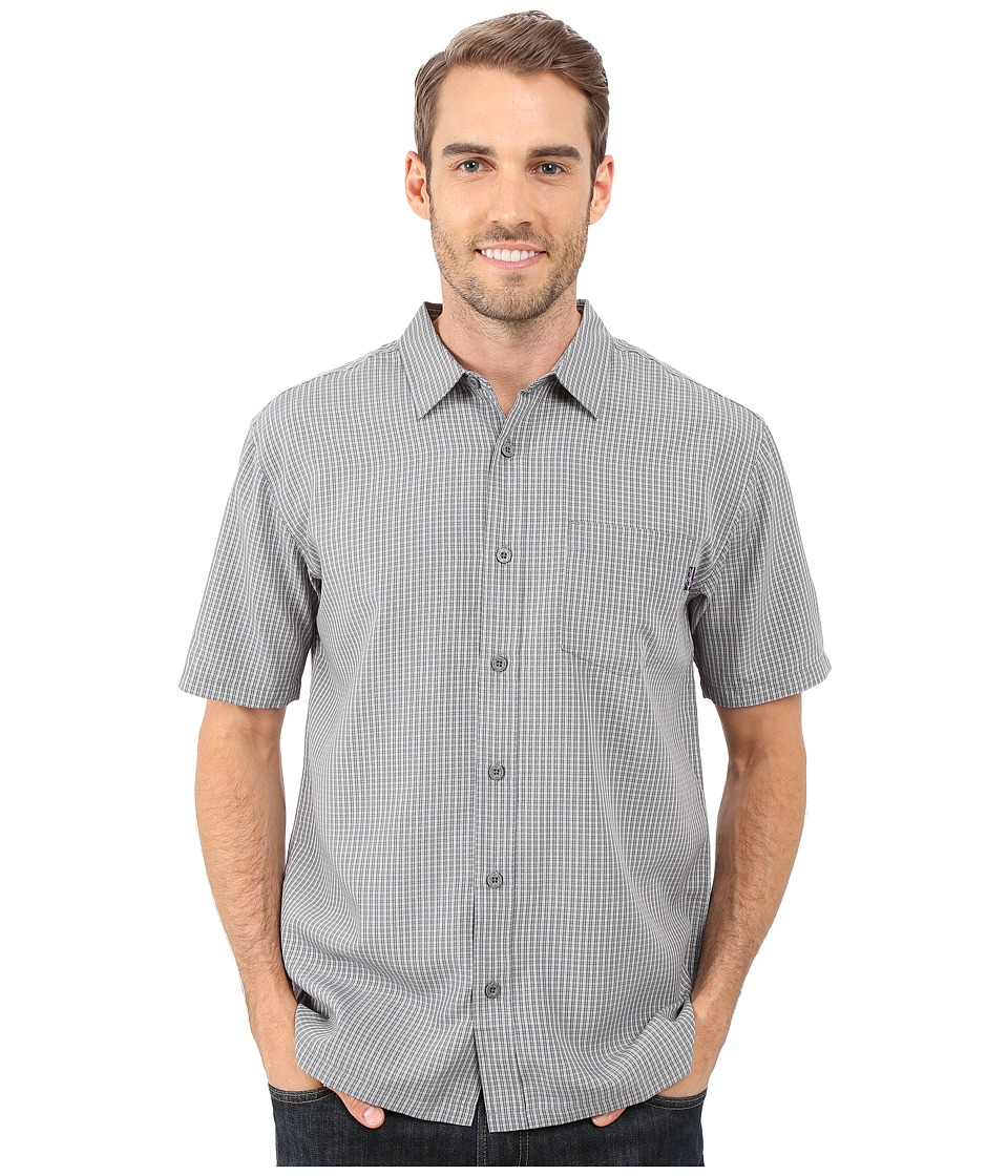 Jack O'Neill - Ford Wovens (Dark Charcoal) Men's Short Sleeve Button Up