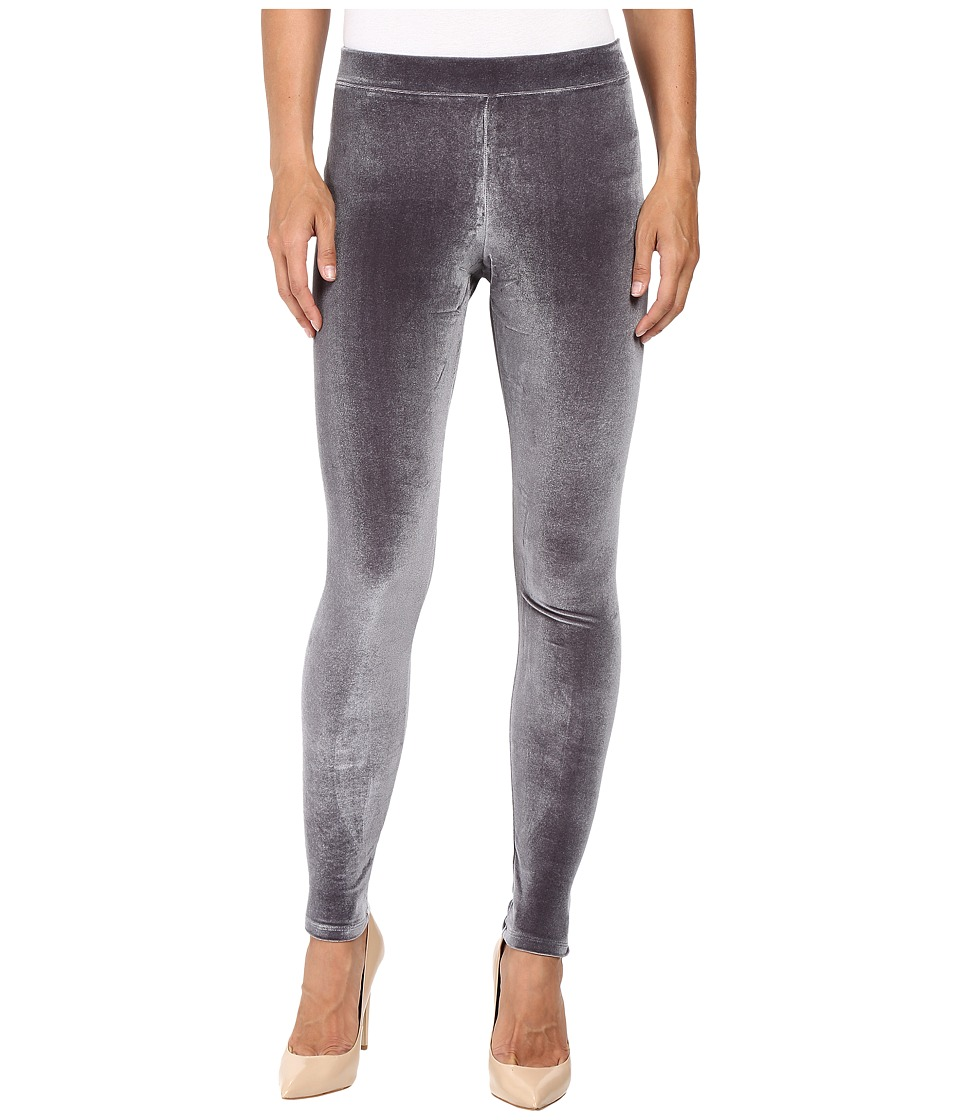 HUE - Velvet Leggings (Cobblestone) Women's Casual Pants