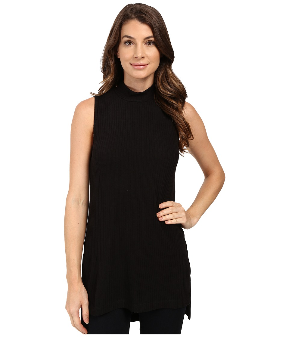 Splendid - Sylvie Rib Tunic (Black) Women's Blouse