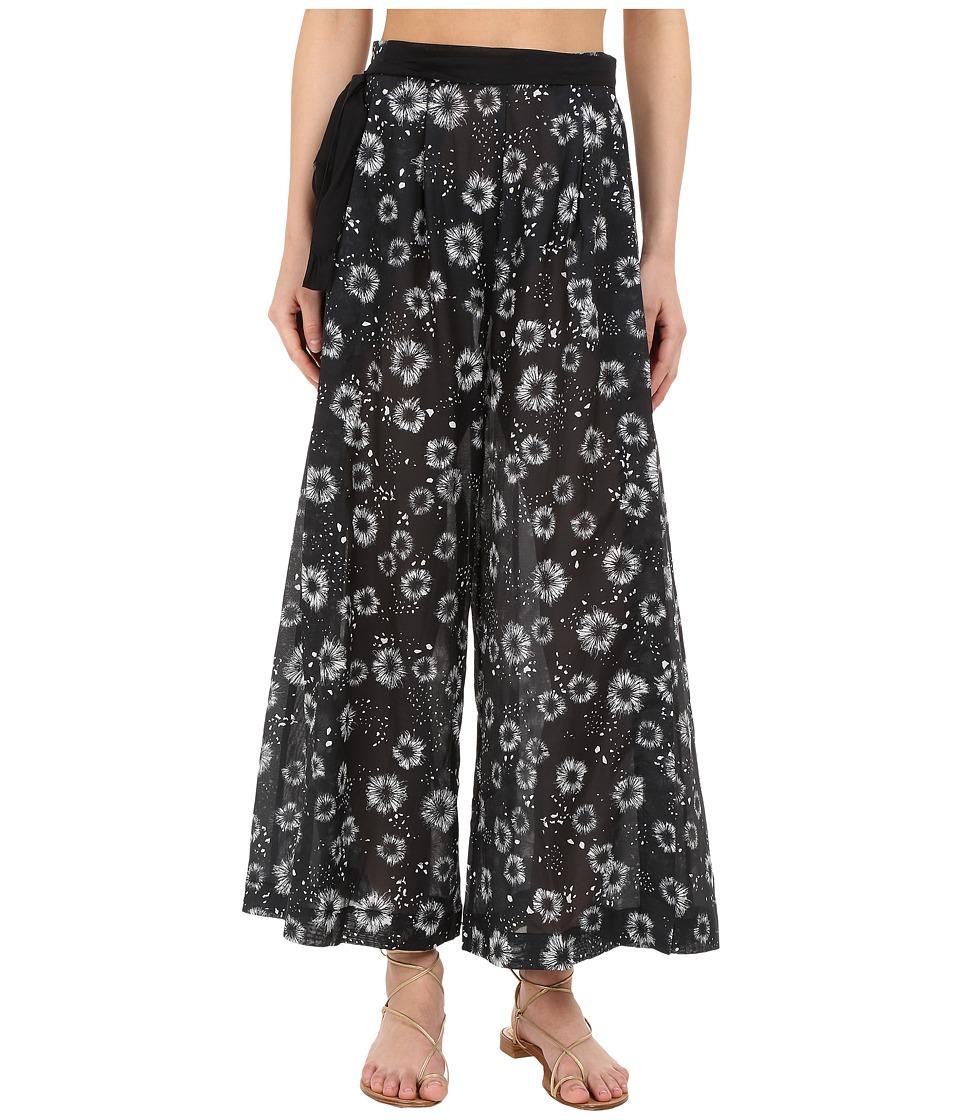 Proenza Schouler Palazzo Pants Cover-Up (Black/White) Women