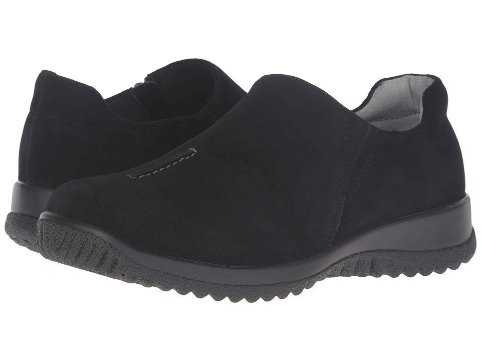 Drew - Haley (Black Suede) Women's Shoes