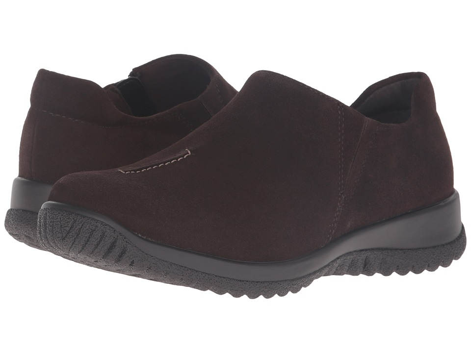 Drew - Haley (Brown Suede) Women's Shoes