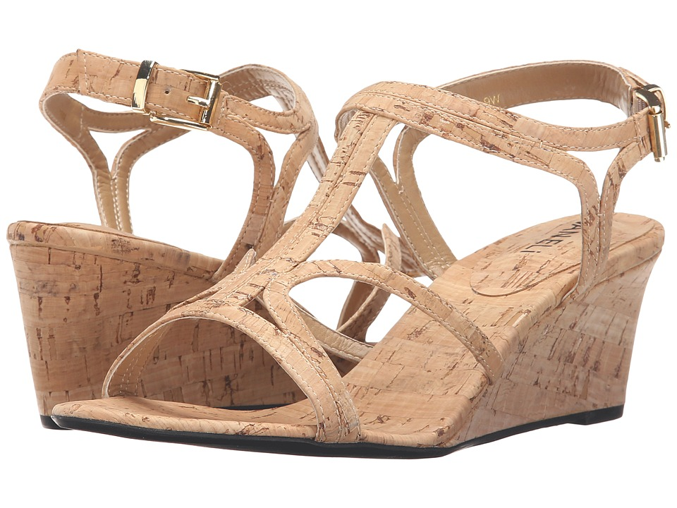 Vaneli - Merope (Natural Cork) Women's Wedge Shoes