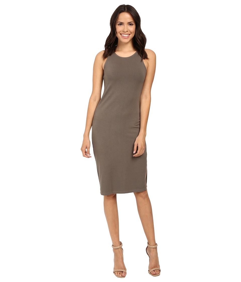 Splendid - Ceeley French Terry Dress (Military Olive) Women's Dress