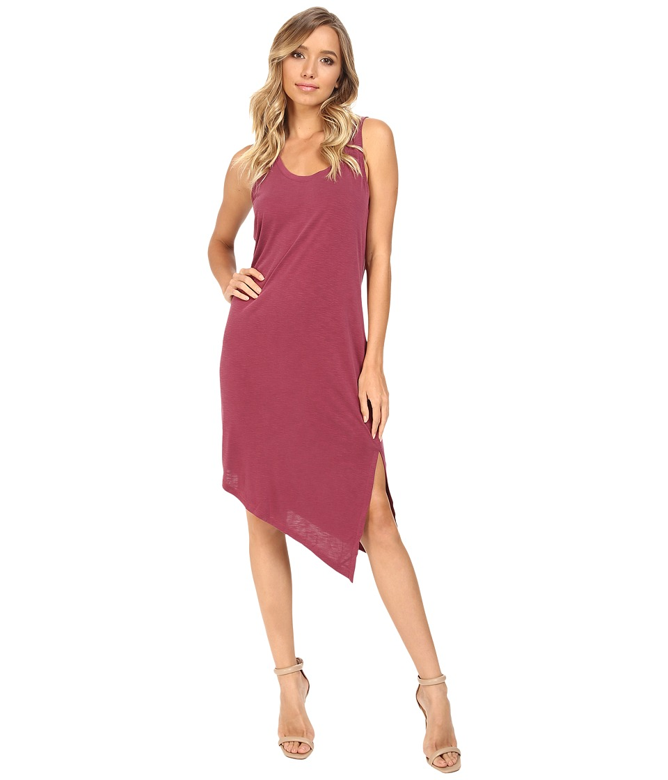 Splendid - Sandwash Layered Dress (Cranberry) Women's Dress