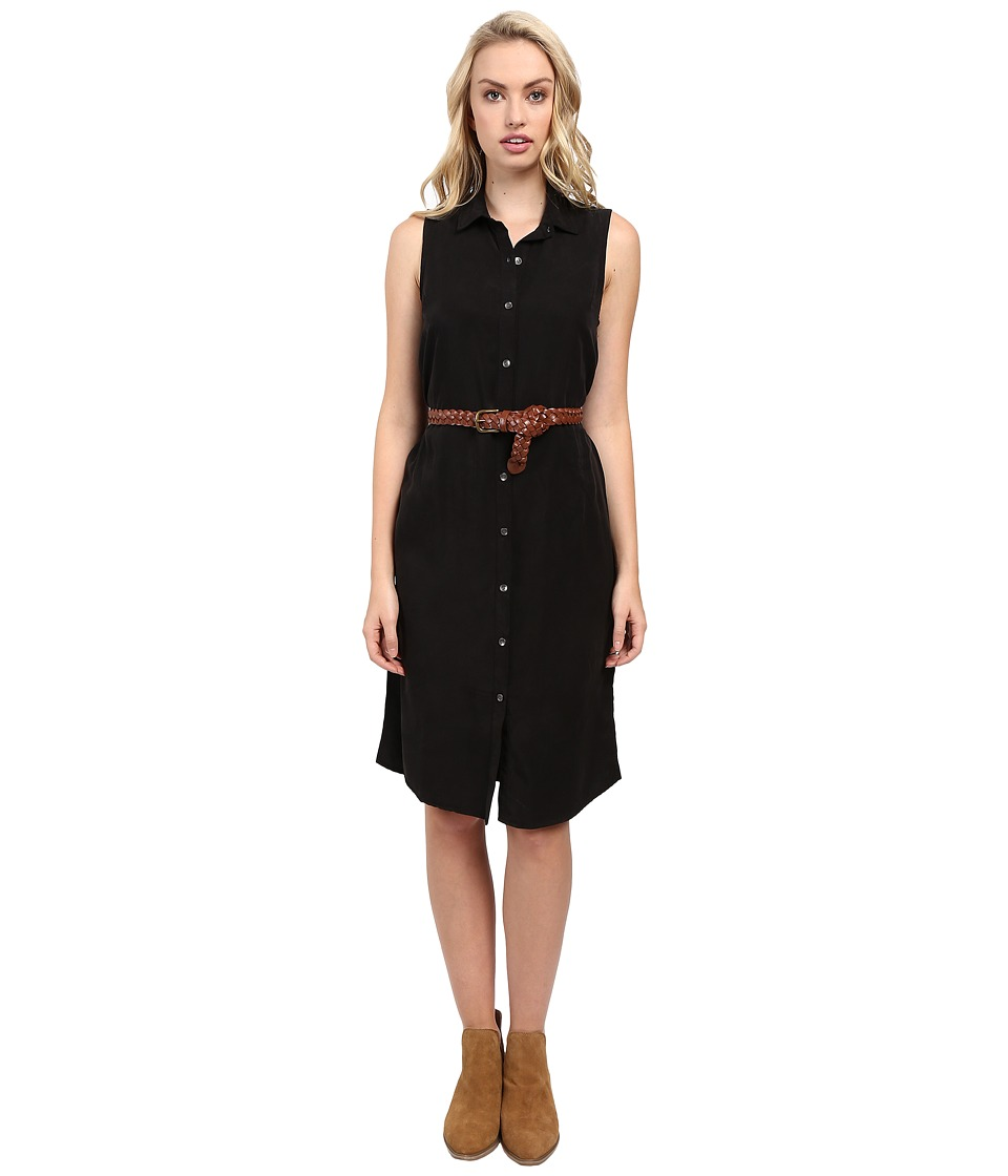 Splendid - Wilder Tencel Dress (Black) Women's Dress