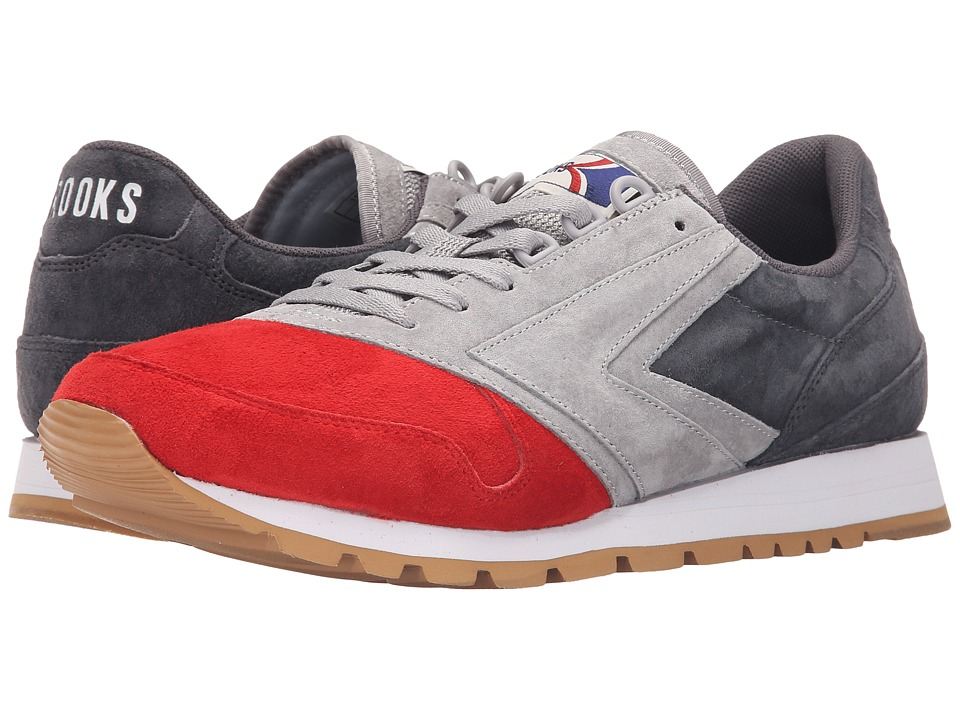 Brooks Heritage Chariot (Sleet/Athletic Grey/High Risk Red) Men