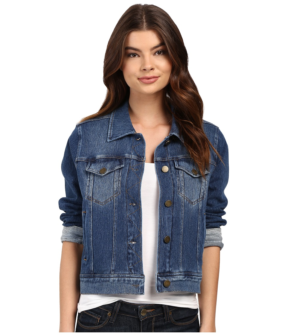 Lysse - Stretch Denim Jacket (Mid Wash) Women's Coat