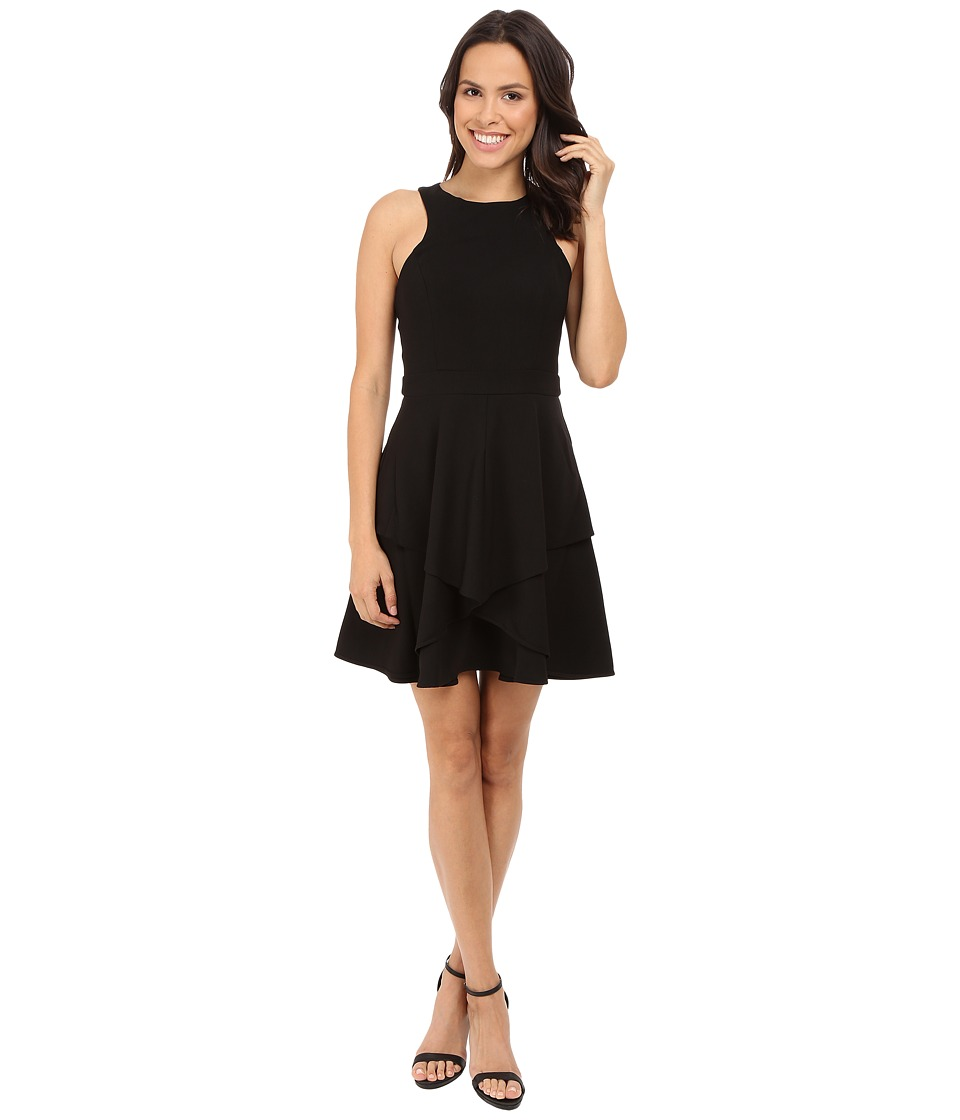 Adelyn Rae - Fit and Flare Dress (Black) Women's Dress