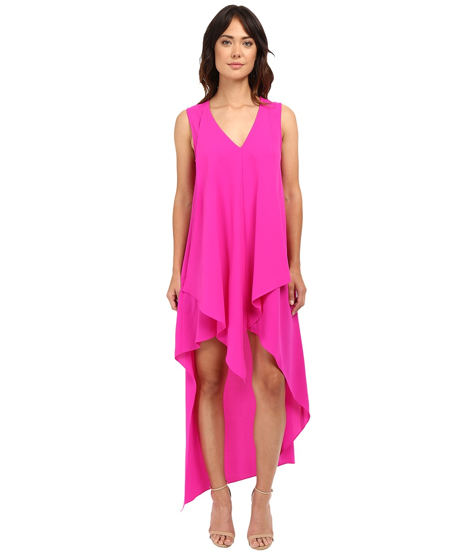 Adelyn Rae - High-Low Dress (Bright Fuchsia) Women's Dress