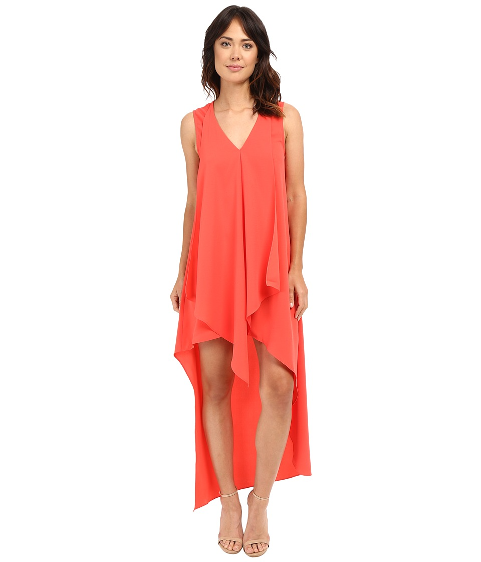 Adelyn Rae - High-Low Dress (Red/Orange) Women's Dress