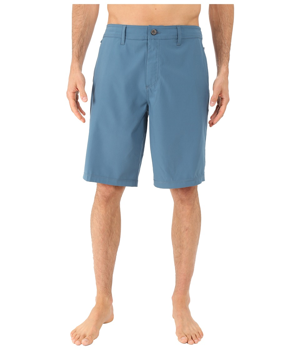 Jack O'Neill - A Frame Solid Boardshorts (Earth Navy) Men's Shorts