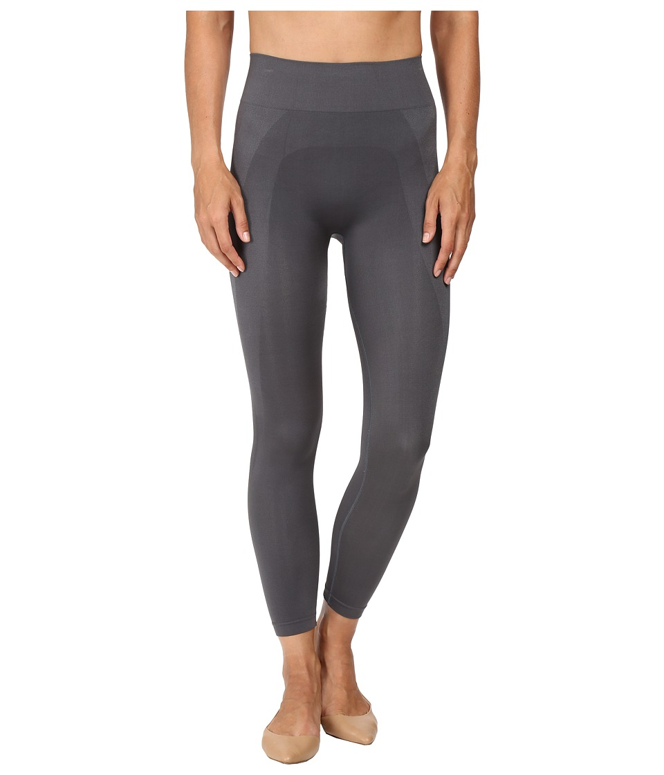 HUE - Seamless Shaping Capris (Thunder) Women's Capri