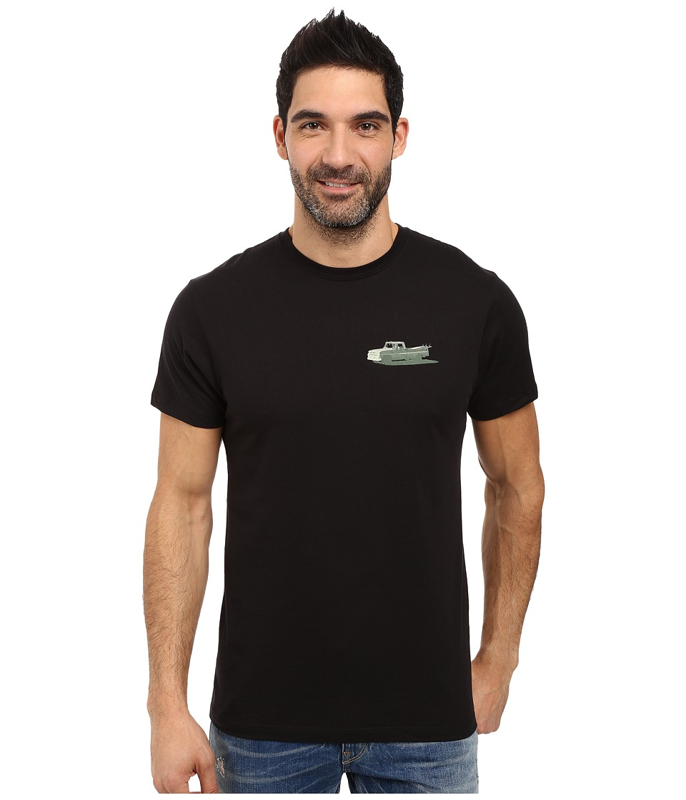 Jack O'Neill - Pick Up Short Sleeve Screen Tee (Black) Men's T Shirt