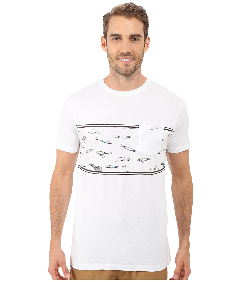 Jack O'Neill - Bait Short Sleeve Screen Tee (White) Men's T Shirt