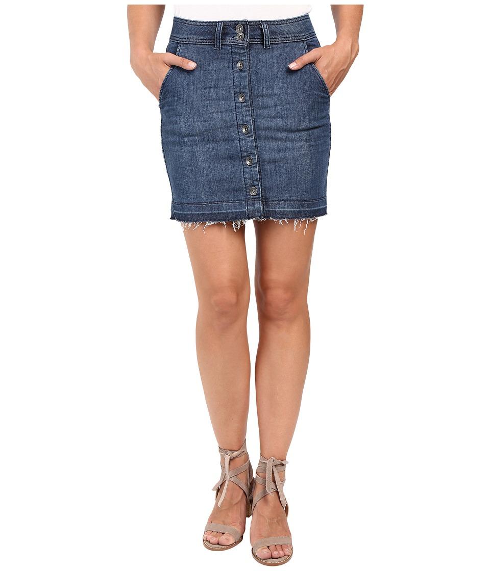 Splendid - Cesarie Indigo Skirt (Dark Vintage Wash) Women's Skirt