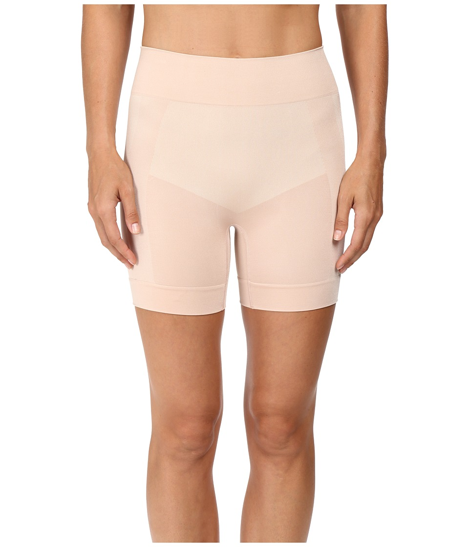 HUE - Seamless Shaping Shorts (Ballet) Control Top Hose