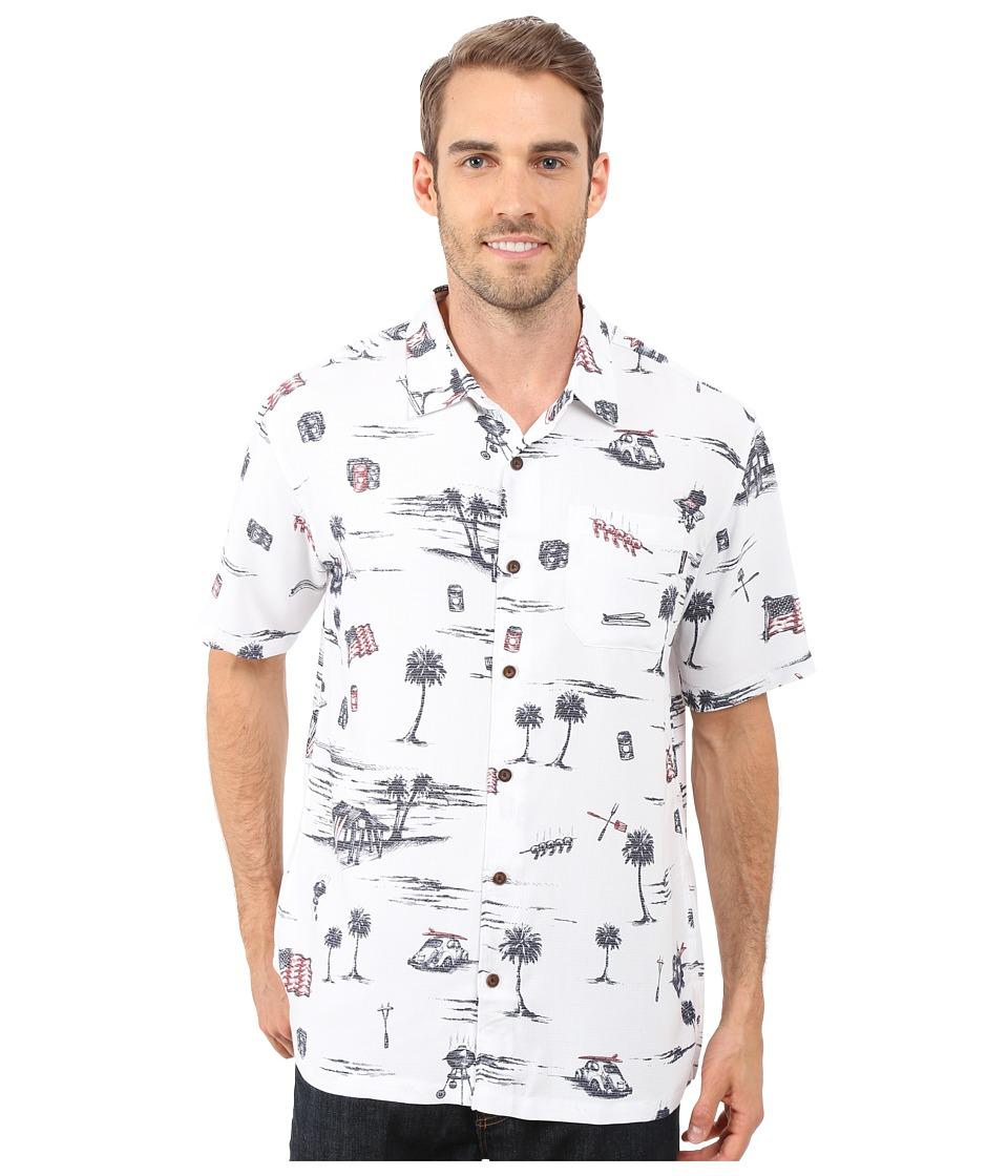 Jack O'Neill - Independence Wovens (White) Men's Clothing