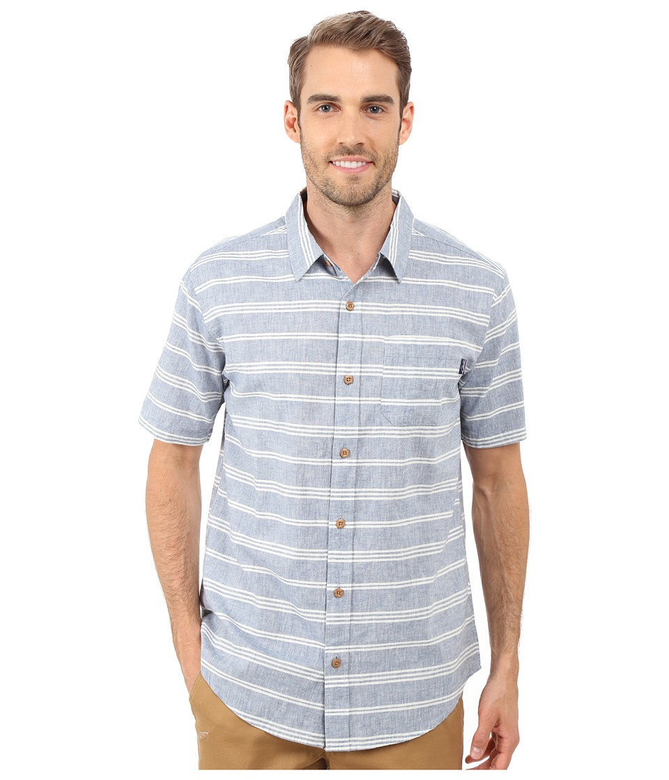 Jack O'Neill - Oasis Wovens (Dusk Blue) Men's Clothing
