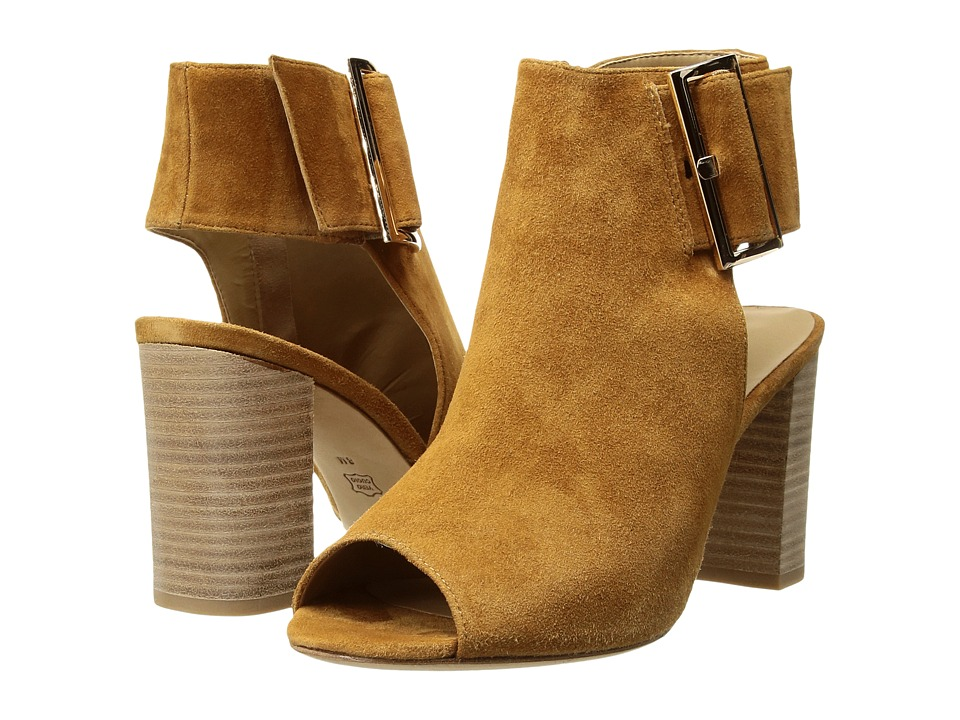 Vaneli Bisa (Cuoio Suede/Gold Buckle) High Heels