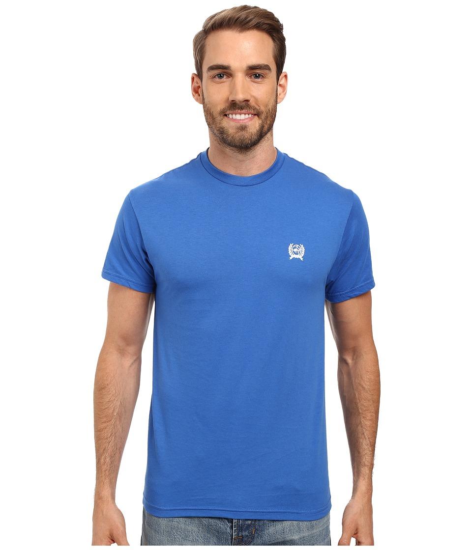 Cinch - Soft Hand Jersey Short Sleeve Tee (Royal) Men's T Shirt
