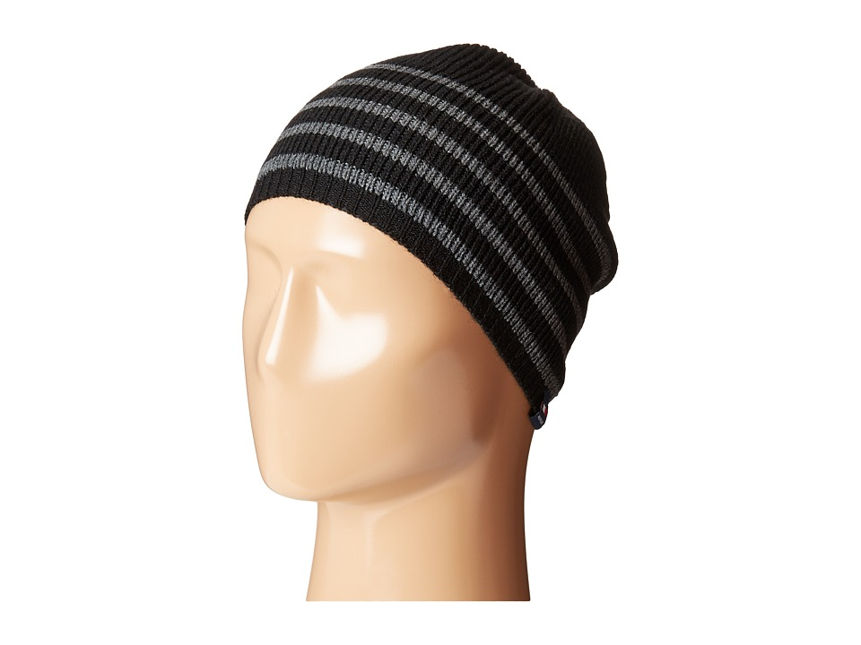 Tommy Hilfiger - Stripe Hat (Black) Caps