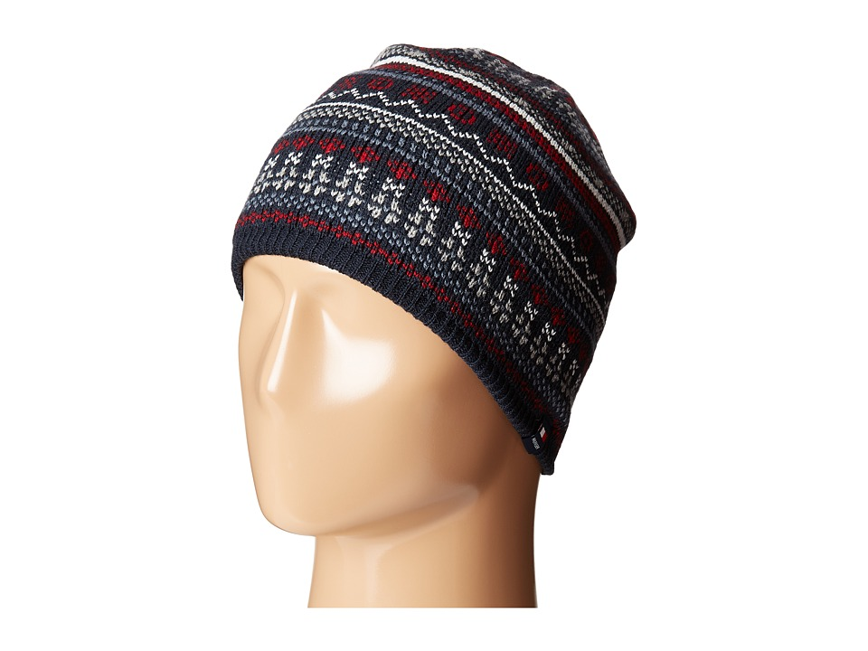 Tommy Hilfiger - Fair Isle Hat (Navy) Caps