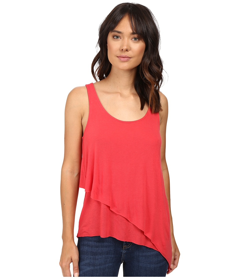 Splendid - Drapey Lux Layered Tank Top (Canyon) Women's Sleeveless