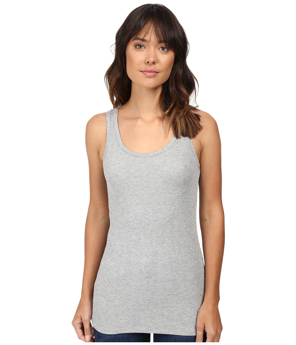 Splendid - Thermal Tank Top (Heather Grey) Women's Sleeveless