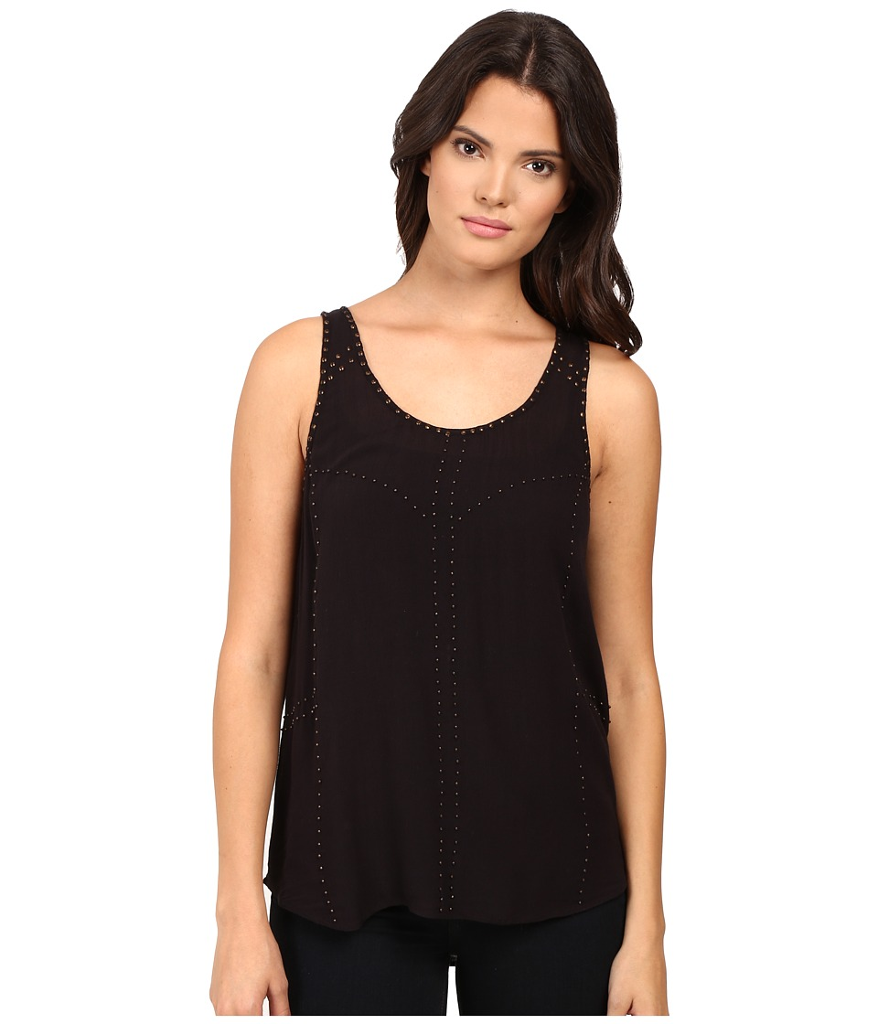 Paige - Lisette Tank Top (Black) Women's Sleeveless
