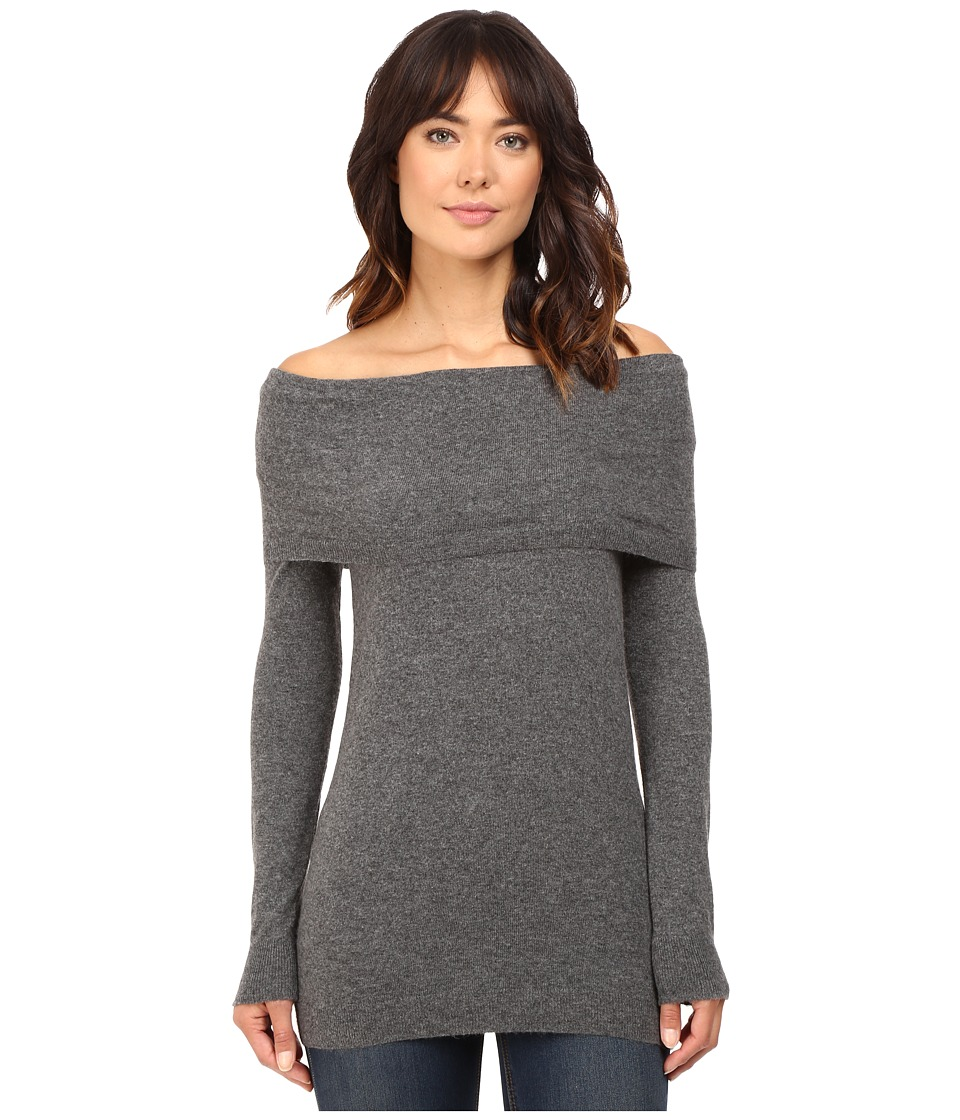 Splendid - Launderlux Brigitte Sweater (Heather Lead) Women's Sweater