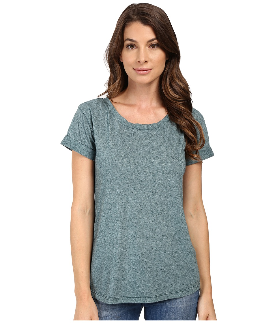 Splendid Tri-Blend Jersey Tee (Emerald) Women