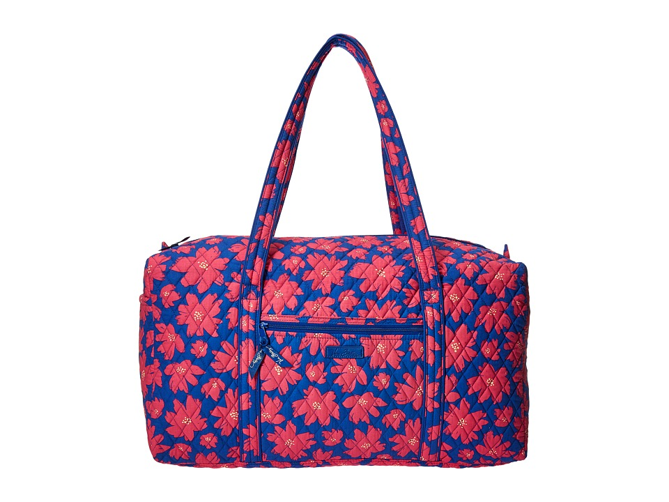 Vera Bradley Luggage - Large Duffel (Art Poppies) Duffel Bags