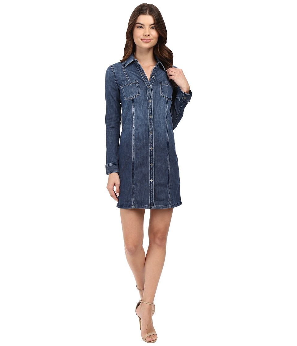 Splendid - Cesarie Indigo Dress or Jacket (Dark Vintage Wash) Women's Clothing