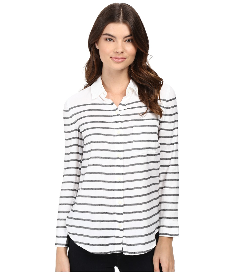 Splendid - Breton Stripe Shirt (Black/White) Women's Clothing