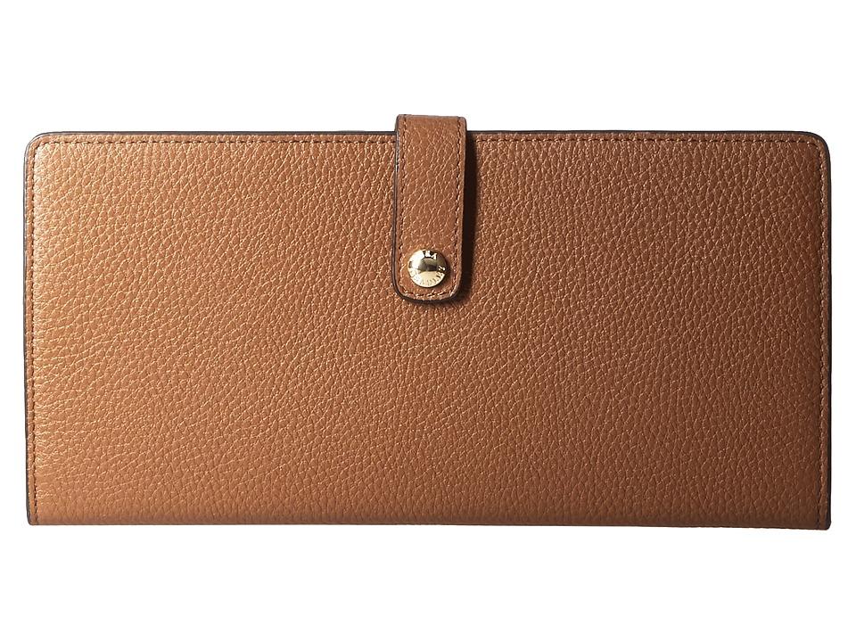 Vera Bradley Luggage - Slim Travel Organizer (Cognac) Bags