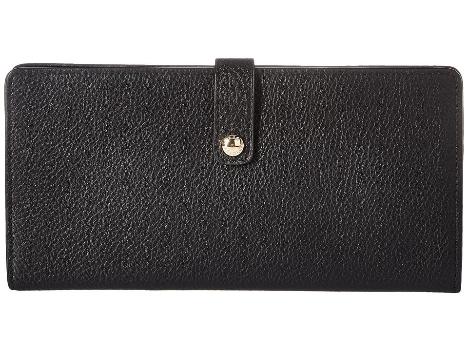 Vera Bradley Luggage - Slim Travel Organizer (Black) Bags