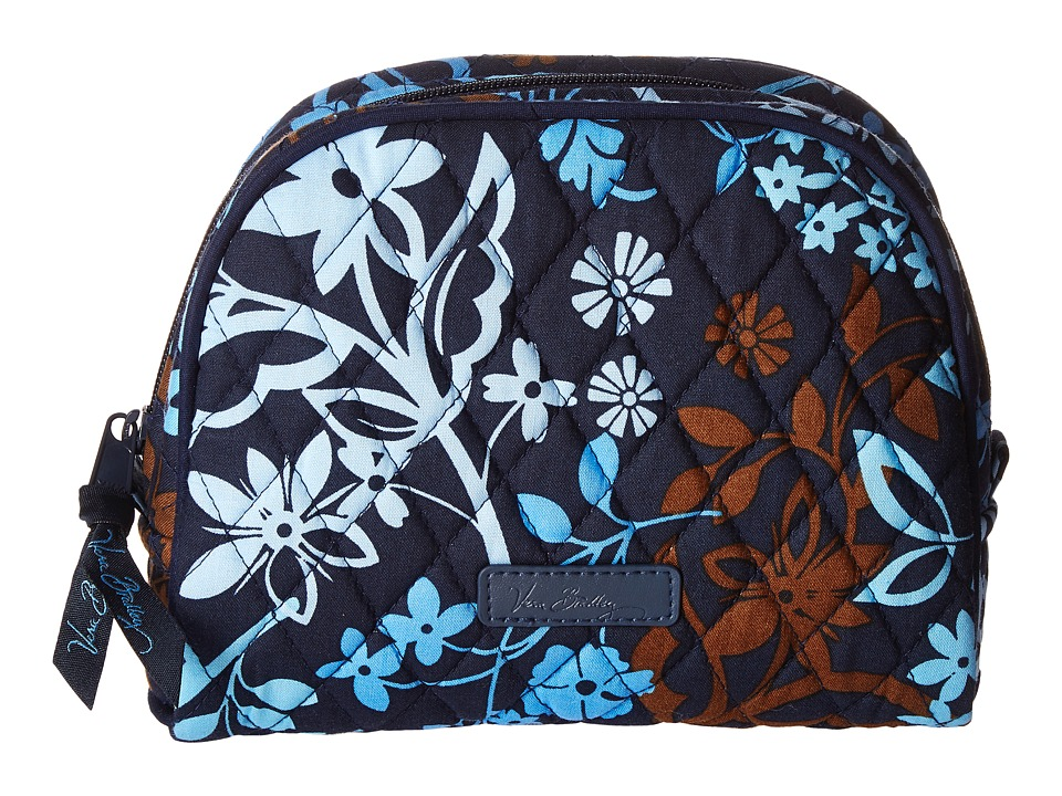 Vera Bradley Luggage - Medium Zip Cosmetic (Java Floral) Cosmetic Case