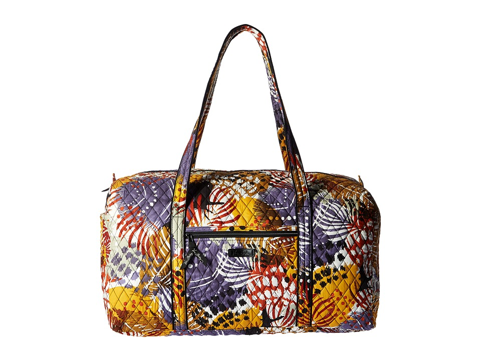Vera Bradley Luggage - Large Duffel (Painted Feathers) Duffel Bags