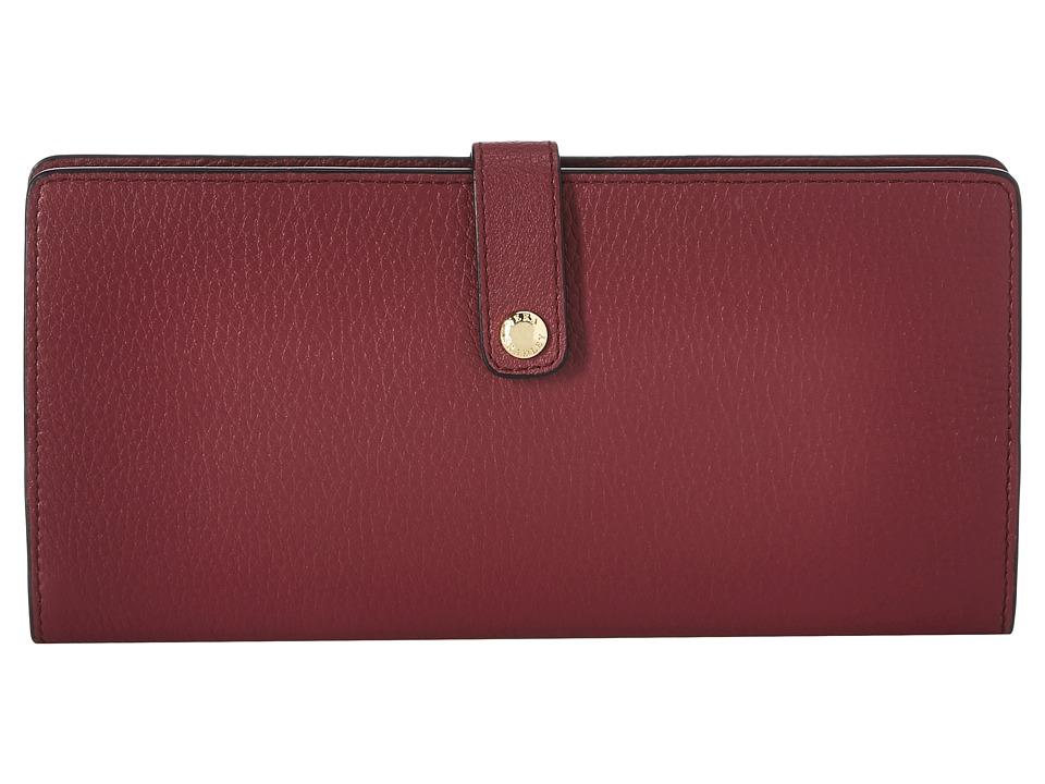 Vera Bradley Luggage - Slim Travel Organizer (Claret) Bags