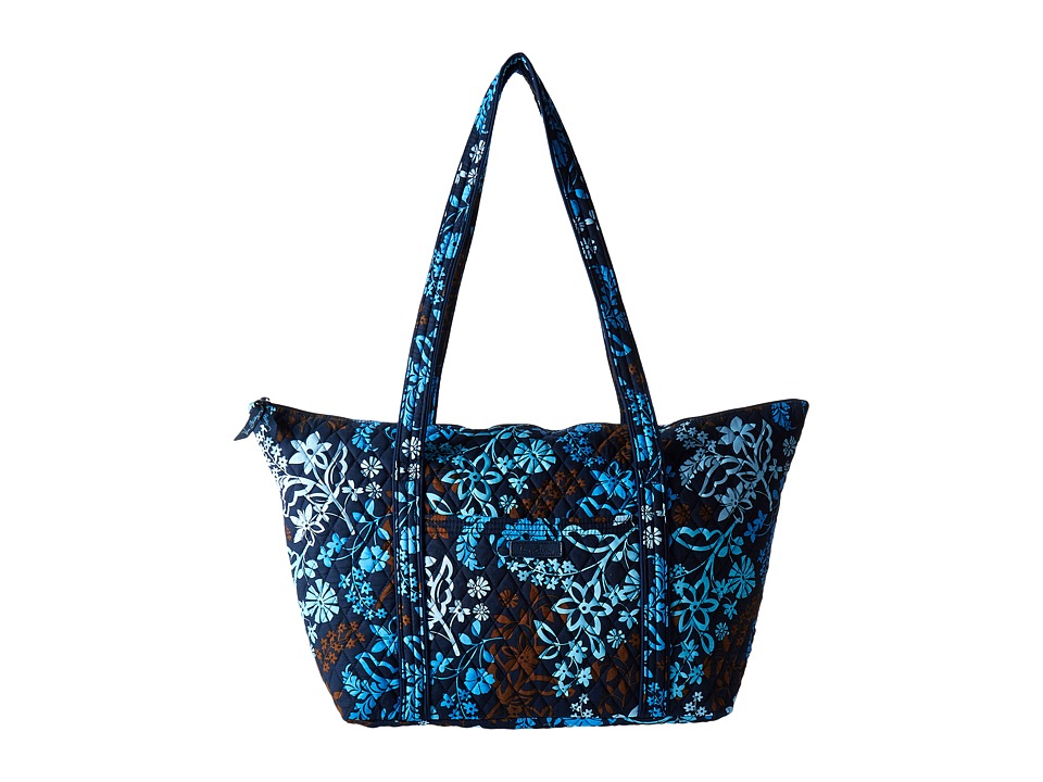 Vera Bradley Luggage - Miller Bag (Java Floral) Tote Handbags