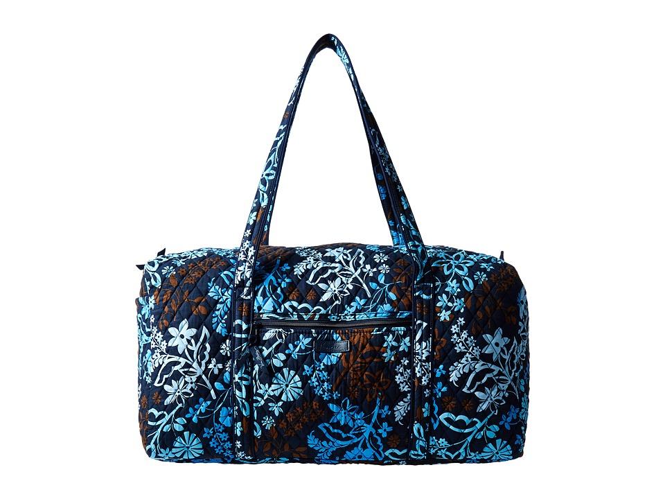 Vera Bradley Luggage - Large Duffel (Java Floral) Duffel Bags