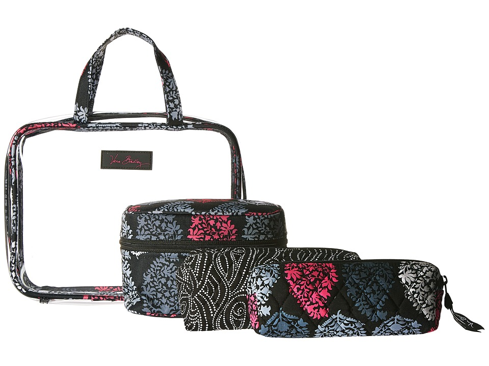 Vera Bradley Luggage - Four-Piece Cosmetic Organizer (Northern Lights) Cosmetic Case