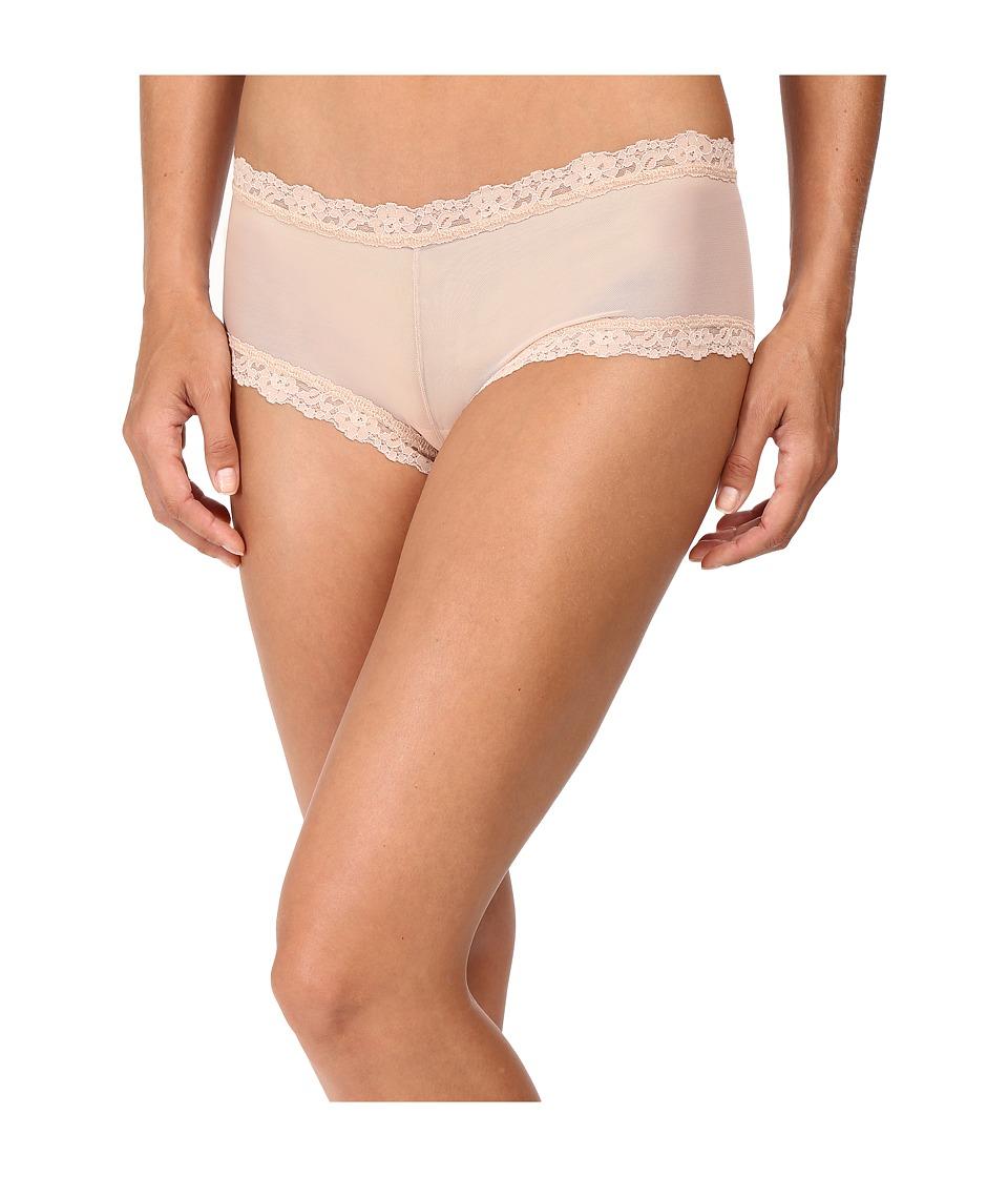 Hanky Panky - Classic Mesh Boyshorts (Buff) Women's Underwear